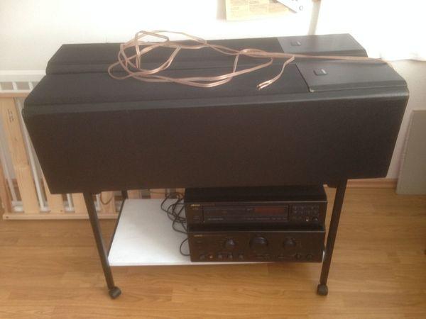 HIFI Onkyo-Stereoanlage und Quart Standboxen -