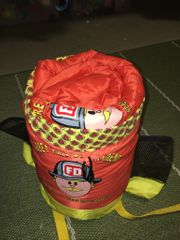 Kinderschlafsack für kleine Feuerwehrfans