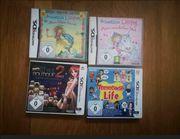 4 Nintendo Spiele