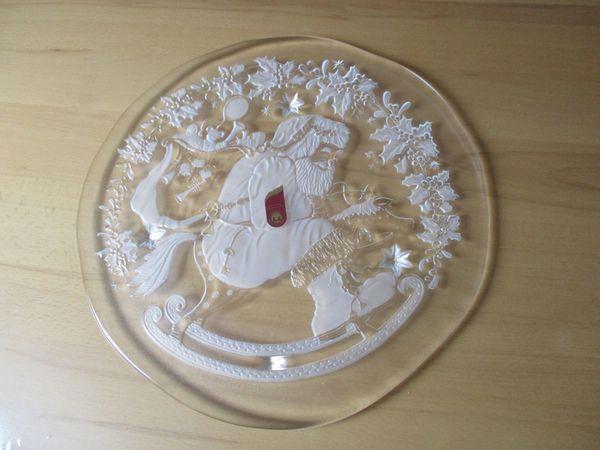 neue Glas - Tortenplatte