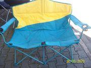 Camping Bank zusammenklappbare 2 Sitzer