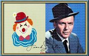 Frank Sinatra Kunstwerk Souvenir Kunstdruck