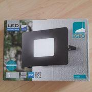 LED Aussenleuchte EGLO 50W schwarz