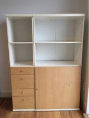 Zweiteiliges IKEA Regal