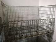 Gebrauchte Industrie-Gitterboxen 120 x 80