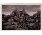 Alte Ansichtskarte Erfurter Domberg