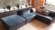 Couch grau 4-teilig