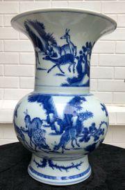 Schöne blaue und weiße chinesische