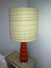 Große Original Retro Tischlampe aus