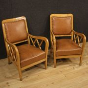 Paar Sessel Möbel Stühle Design