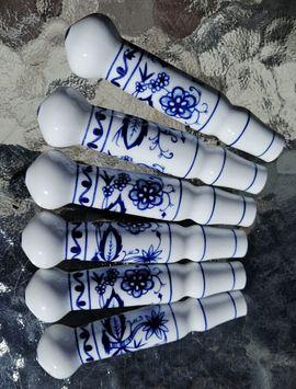 Zwiebelmuster Besteckgriffe Porzellan