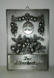 Silberhochzeit 25 Jahre aus Metall 15