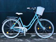 Hochwertiges wunderschönes Fahrrad Cityrad Hollandra