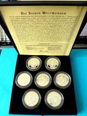 Kuba Münzen 7 Weltwunder der