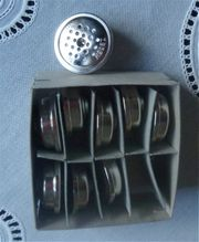 9 Stück Kohlemikrofonsprechkapseln
