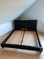 Doppelbett - Bettgestell 200 x 180