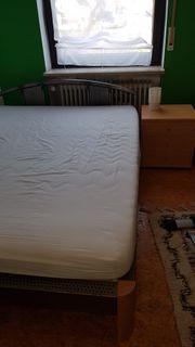 Bett inkl Nachtkästchen