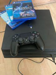 PlayStation 4Pro 3Games