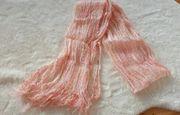 Dünner Schal Halstuch rosa