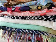 Schals Tücher Stoffe