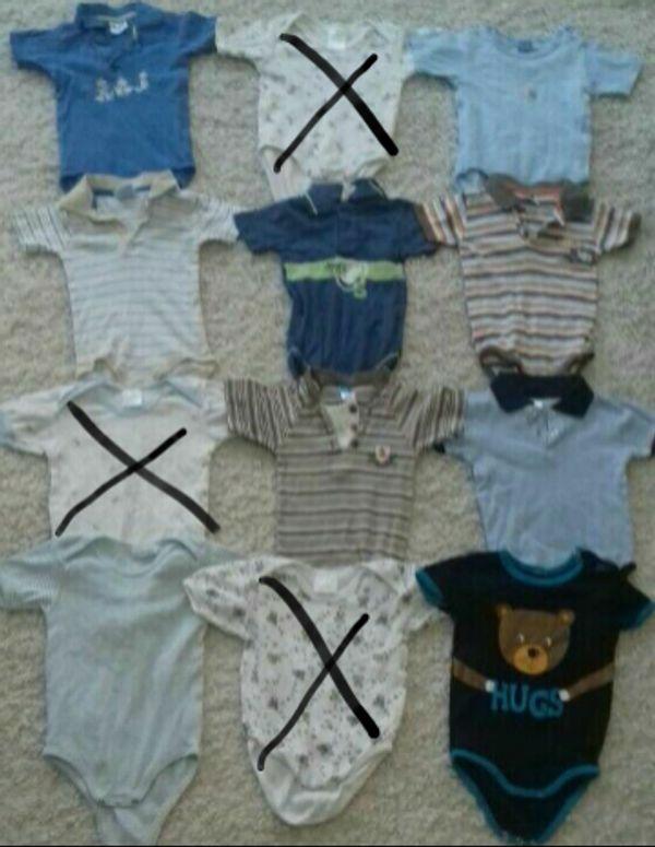 Baby - T-shirtbodypaket Größe 74 80