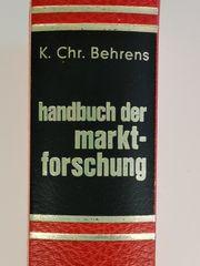 Buch Handbuch der Marktforschung Behrens