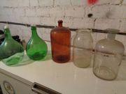 Glasbehälter Apothekerflaschen