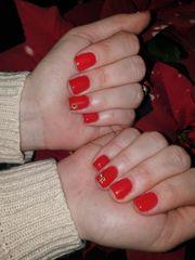 nagel mit gel und nagel