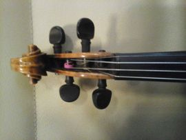 Bild 4 - Sehr schöne Geige Etikett Rom - Dautphetal Damshausen