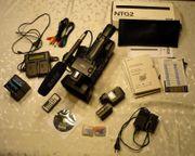 Sony Handycam HDR-AX2000 mit viel