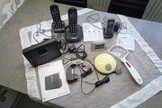 Schnurlostelefone Router Seniorenhandy Uhren für