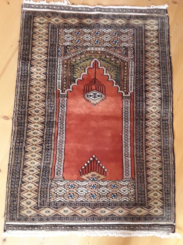 Teppich Orient Teppich Gebetsteppich Brücke