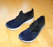 NEU Herrenschuhe Sneaker dunkelblau Größe