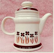 DDR Kaffeekanne aus Keramik - Mit