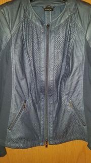 Neue Lederfake Jacke von Bonita