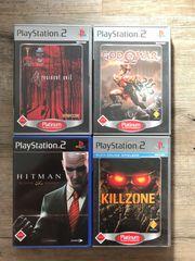 Verschiedene Playstation Spiele