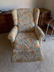 Couchsessel verstellbar Vintage