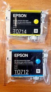 Tintenpatronen für Epson T0714 und