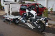 Sawiko Wheely Einachs-Anhänger für Motorrad