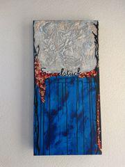 Acrylbild 80 x 40 cm