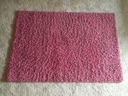 Hochflor Shaggy Teppich Rosa 120cm