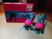 SFR Rollschuh Pink Größe UK
