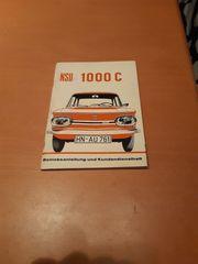 Bedienungsanleitung NSU 100 C