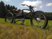 Chopper Beachcruiser Lowrider E- Bike