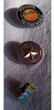 3 Pins für Sammler WM