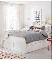 Ikea Bett Brinmes 180 x