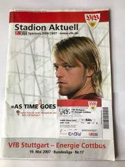 Original Stadionzeitung mit Eintrittskarte