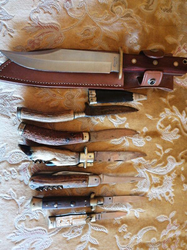 Militaria Taschenmesser Jagdmesser und Klappmesser