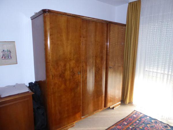 Schlafzimmermöbel Schlafzimmerschrank Doppelbett ca 70