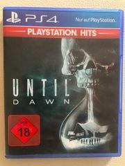 Until Dawn PS4 - neuwertig uncut